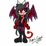 Sonic Form: Amili Glow by FlyingArtist-VGS