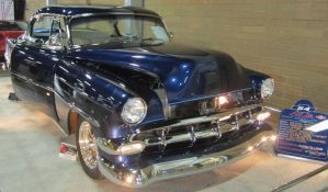 54 Chevy BelAir by zypherion