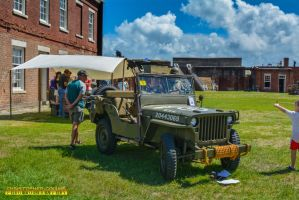 World War II Jeep at Fort 1 May 28, 2016 by ENT2PRI9SE