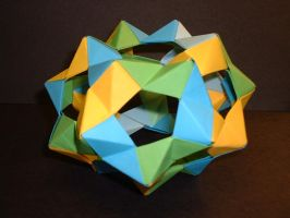 Truncated BuckyBall by unknowninspiration