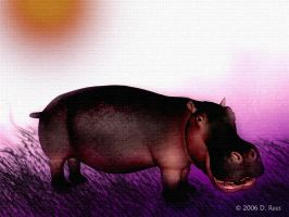 It's a hippo by Zethara