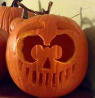 Ticci-Toby *twitch* Pumpkin by trystaa
