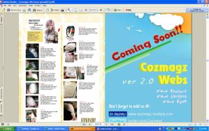 CosMagz e-zine Feature by RoxyRoo