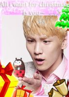 key 'all i want for christmas is you' by Bubble-Night