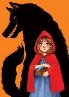 Red Riding Hood by courtneygodbey