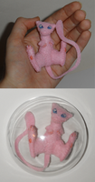 Mew Mini-Plush by RJDaae
