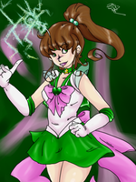 Sailor Jupiter by SugarBonBonne