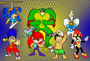 Gaming Heroes That Time Forgot by ProfessorMegaman