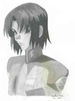 Athrun Zala by Bakura-lover