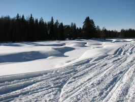 Different shapes of snow by HannuR
