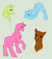 Original Base - Pony Pack by Shadow-Bases