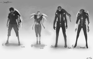 Char concepts by TSRodriguez