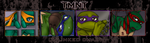 TMNT Banner - Unlinked Chain by DuelistoftheRose