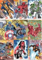 Marvel Now Set 03 by rustywork