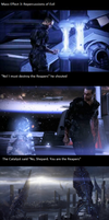 No Shepard, you are the Reapers by SirAdamus
