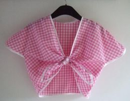 1940's Tie Top - Gingham 2 by rascalkosher