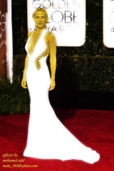 Golden Kate Hudson at The Golden Globe by Creativemohamedadel