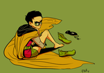damian hates dem panties by PollyGuo