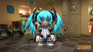 Hatsune miku Append by Darkchi2