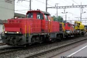 SBB Am 841 023-5 by SwissTrain