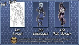 Prices FULL BODY by faogwolf