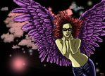 Rock N Roll Angel by edarsenal