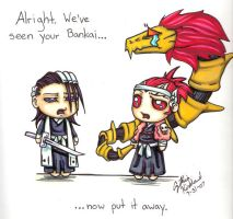 Sorry Renji....not impressed. by AthelLoren-wardancer