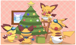 Decorating Chus by pichu90