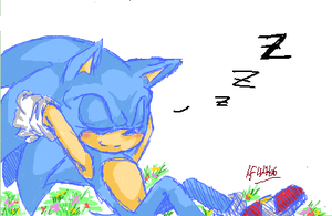 iScribble - Nap-hog by BlueNeedle-Inu