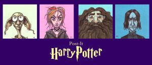 POST IT HARRY POTTER SII by QuinteroART
