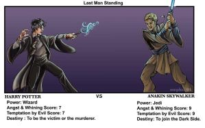HARRY VS ANAKIN by lady-cybercat