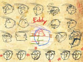 Eddy's face by ScribbleNetty
