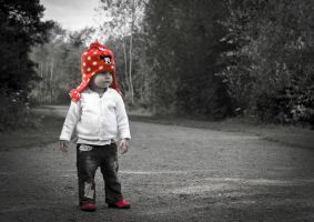 Little red riding hat by S1M0Nsays