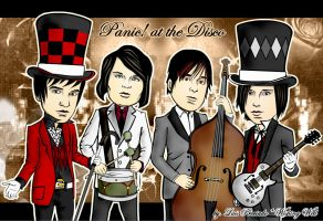 Panic at the Disco by wishingwellart