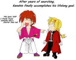 Kenshin Accomplishes His Goal by BakayashaEclipse