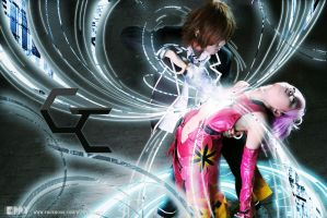 Guilty crown cosplay photoshoot by HZisLazy