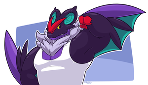 Matt the Noivern, drawn by Greenendorf