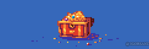 240/365 pixel art : Treasure by igorsandman
