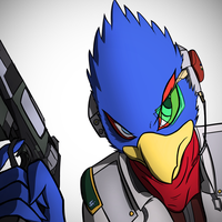 Falco Means Business by Ezlakh