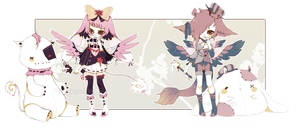 [CLOSED] ADOPT AUCTION 68 - Plushies Charmer by Piffi-adoptables