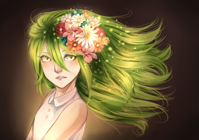 Crown of Flowers by Pandastrophic
