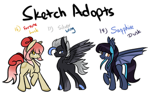 MLP - Sketch Adopts #6 [CLOSED] by CindryTuna