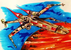 X-Wing Fighter by GregLakowske
