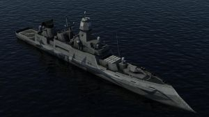 Guided Missile Destroyer -WIP by Helge129