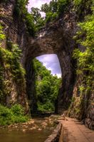Natural Bridge by dementeddiva23