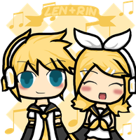 Len and Rin contest entry by SkyWinds