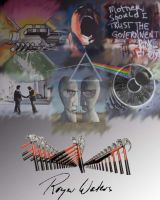 Pink Floyd Collage by snagglepuss