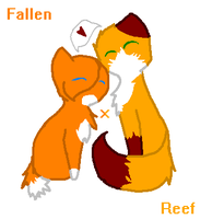 FallenPaw x ReefPaw GIFT by creepyponylover