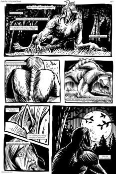 Cycles Ep1 pg9 A Cry in the Woods by Were-World
