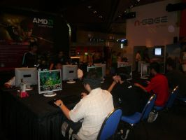 FREEPLAY GAMES BOOTH AT GCA by victortky
